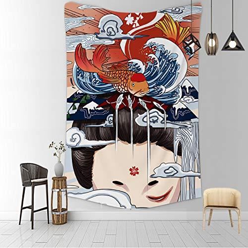 CNYG Psychedelische Decke Kanagawa Wave...