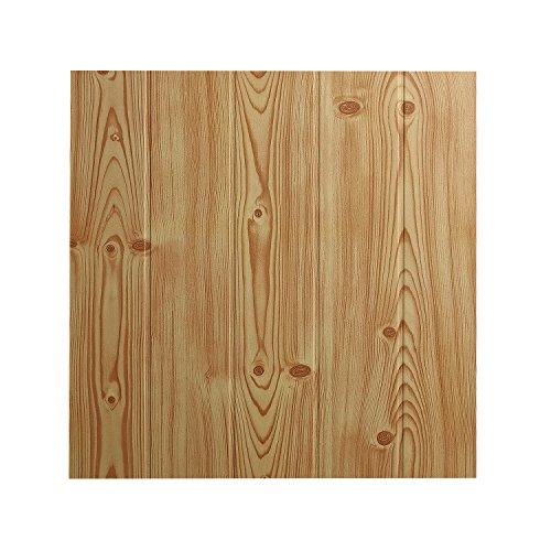 DECOSA Deckenplatten ATHEN in Holz Optik...