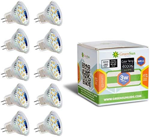 GreenSun LED Lighting MR11 GU4 3W 12...